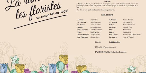 """Teatre de carrer """"La Rambla de les Floristes"""""""