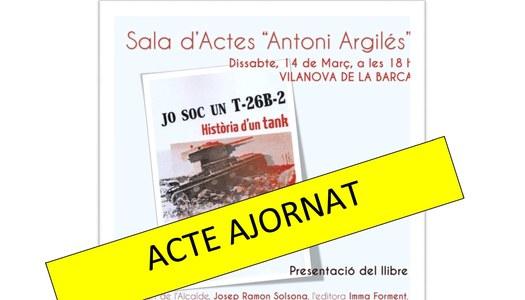 Acte presentació llibre AJORNAT