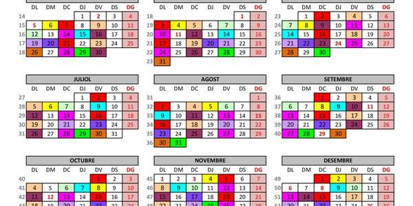 Calendari deixalleria mòbil 2021