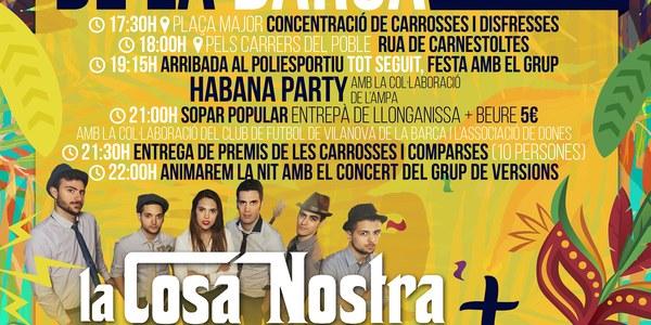 Carnestoltes 2019 a Vilanova de la Barca
