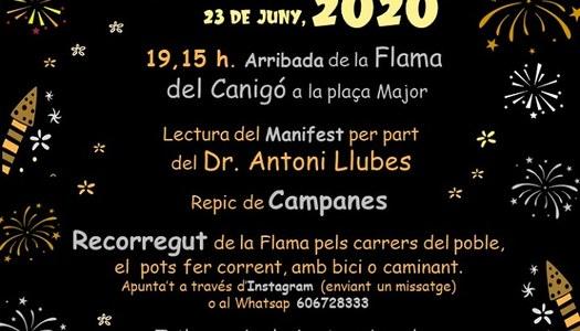 Celebració Festa de Sant Joan 2020