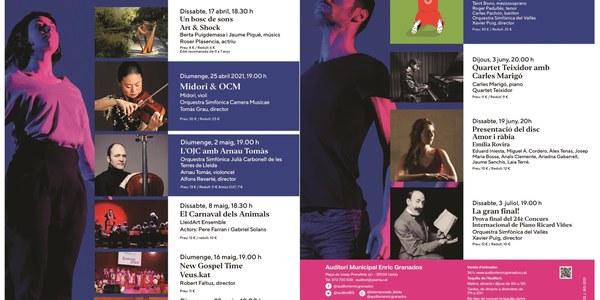 Concerts Auditori Enric Granados