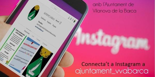 Instagram. Nou Canal  de Comunicació amb l'Ajuntament