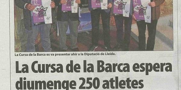 """Presentació Cursa La Barca """"XII Memorial Ramon Blanch"""""""