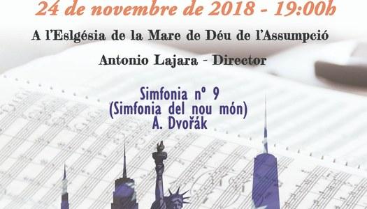 Concert dissabte dia 24 de novembre de 2018