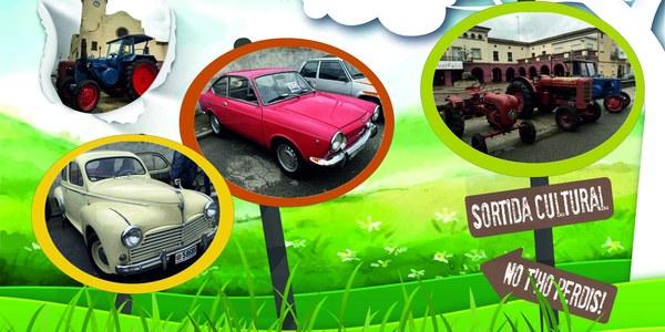 Trobada de cotxes antics, clàssics, esportius i tractors antics
