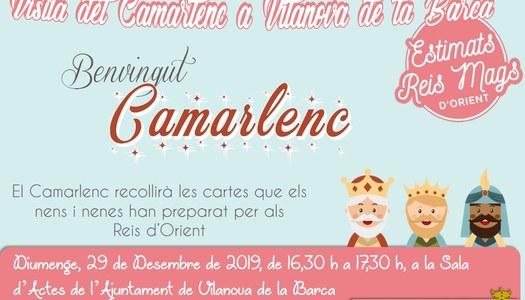 Visita del Sr. Camerlenc a Vilanova de la Barca