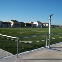 Camp de futbol de gespa artificial