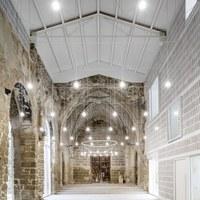 Interior edifici Església vella