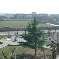 Camp de futbol des del campanar